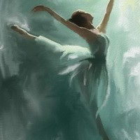 """Ballerina"" - Art Print by Jovan Maletic"