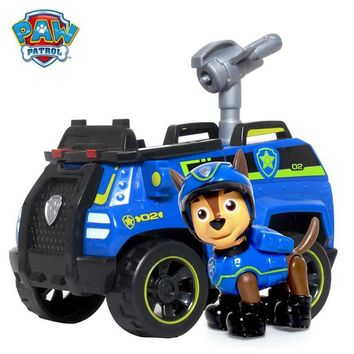 Paw patrol Puppy Patrol Dog Chase Anime Toys Figurine Car Toy Action Figure model patrulla canina toys Children Gifts