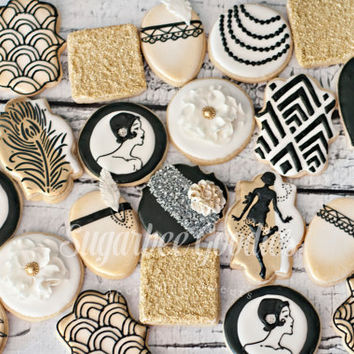 Gatsby themed Cookies (12)