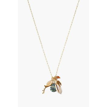 Chan Luu Abalone Mix Sea Charm Necklace
