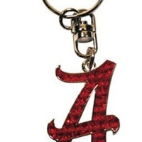 NCAA Alabama Crimson Tide Shanghi Diamond Keychain
