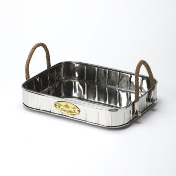Hors D'Oeuvres Stainless Steel Serving Tray