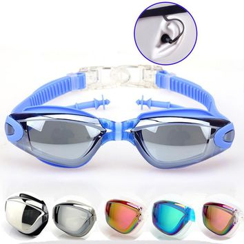 Swimming Pool Goggles For Men Water Underwater Glasses Swim Spectacle Anti-Fog Uv Protection Goggle Zwembad Natacion Hombre.A26