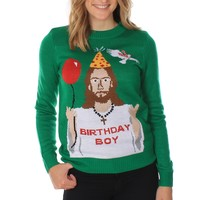 Women's Jesus Christmas Sweater | Tipsy Elves