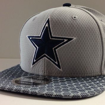 Dallas Cowboys New Era 9FIFTY NFL 2017 Sideline On Field Snapback Cap Hat 950