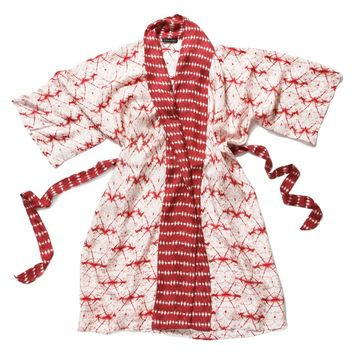 Wavelengths Silk Robe