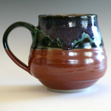 Large Coffee Mug, 18 oz, handmade ceramic cup, tea cup, coffee cup