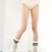 Hat Trick Ribbed Leg Warmers