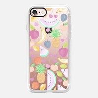 Fruit Punch Light - Transparent iPhone 7 Case by Lisa Argyropoulos | Casetify