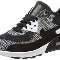 Nike Women's Air Max 90 Ultra 2.0 Flyknit Casual Shoe black nikes for women