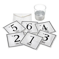 Z Gallerie - Numbers Fabric Coasters