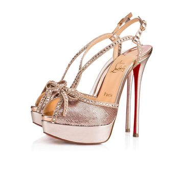 Christian Louboutin Cl Balavenezia Version Multi Strass 18s Special Occasion 1180158cma3 - Best Online Sale