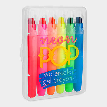 Neon Pop Gel Crayons