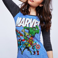 Marvel Graphic Baseball Tee