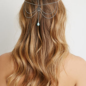 Draped Chain Headpiece