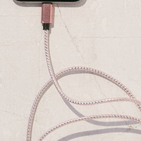 3-Ft Metallic Lightning Cord - Urban Outfitters