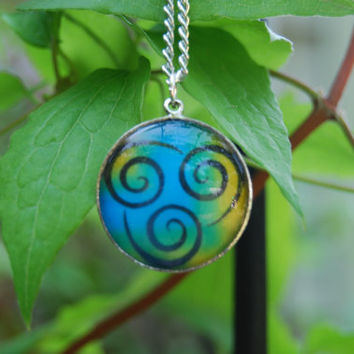 Avatar Spirit Necklace by zeldalilly on Etsy