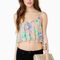 Wild and Free Crop Top