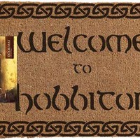 The Hobbit | Welcome To Hobbiton DOOR MAT
