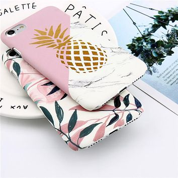 Leaf & Pineapple Phone Case