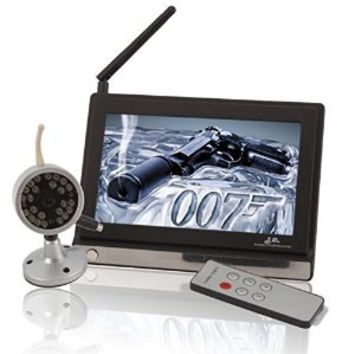 LCD Wireless Night Vision Camera Monitoring System