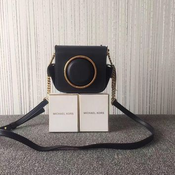 Michael Kors 2017 new female bag camera bag chain small handbag fashion shoulder messe