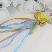 Princess Belle Wand - Disney Costume Accessories - Princess Accessories - Princess Wand -  Princess Party - Birthday Party - Girls Birthday
