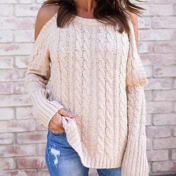 Autum/Winter Solid Color Turtleneck Sweater, Knitted Pullover
