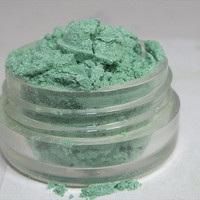 Mineral Eye Shadow Cerulean shimmery mica powder shadow 5 gram sifter