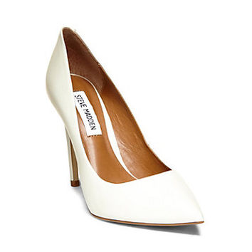 White, Black & Nude Pointed Heels | Steve Madden PROTO
