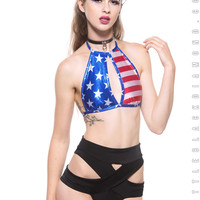 Miss America Halter Top