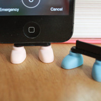 SALE30-70%OFF: shoe standing iPhone Plug . Dust Plug . Phone Plug . Phone Charm Cats, Kawaii, Lovely, Girly, Cat