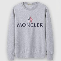 Boys & Men Moncler Casual Edgy Long Sleeve Sweater