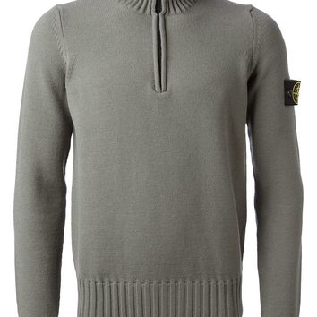 Stone Island turtleneck zip sweater