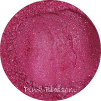 Mineral eye shadow - Pink Blossom Color, hot pink eyeshadow, natural cosmetics, mica pigment, make up,