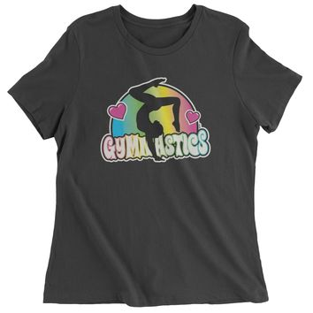 Gymnastics Neon Womens T-shirt