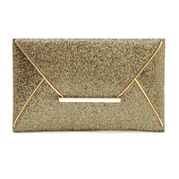 Sequined Envelope Clutch Bag