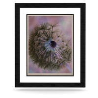 "Alison Coxon ""Dandelion Clock"" KESS Natural Canvas, 11"" x 14"" - Outlet Item"
