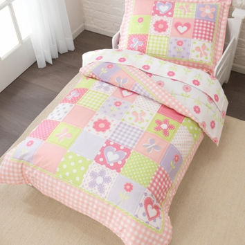 Dollhouse Cottage Toddler Bedding Set