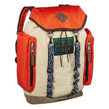 Multi Fabric Utility Backpack by Scotch & Soda