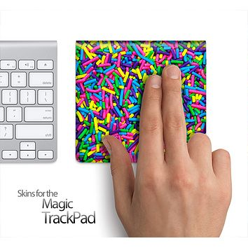 Neon Sprinkles Skin for the Apple Magic Trackpad