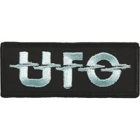 UFO Men's Logo Embroidered Patch Black