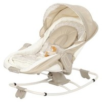 The First Years Sweet Sleep Cocoon, Newborn Nap and Play Rocker - White