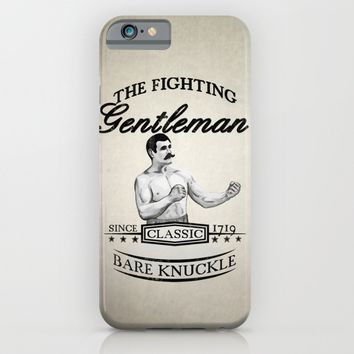 The Fighting Gentlemen iPhone & iPod Case by Nicklas Gustafsson | Society6