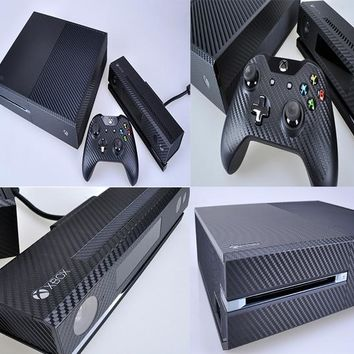 Carbon Fiber Vinyl Skin Protector for Microsoft Xbox One and 2 Controller Skins