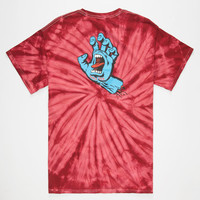 Santa Cruz Screaming Hand Mens T-Shirt Multi  In Sizes