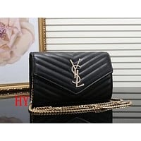 YSL Women Shopping Leather Crossbody Shoulder Bag Satchel