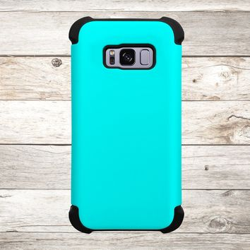 Solid Color Aqua for Apple iPhone, Samsung Galaxy, and Google Pixel