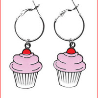 * Cupcake Earrings Live Fast carries an array of brands such as Ed Hardy, Stiletto Custom Leather Wear, Vivienne Westwood, Keanan Duffy and Sub-Mission along with many other independent designers