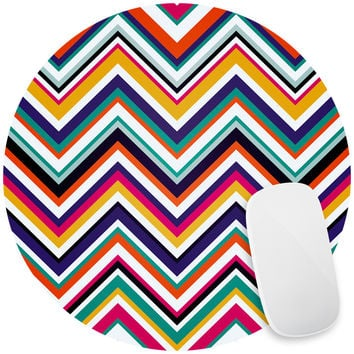 Retro Chevron Mouse Pad Decal
